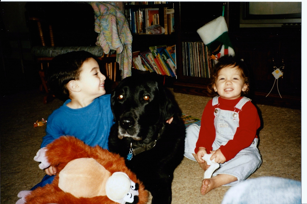 Nick Marisa and brutus 1997